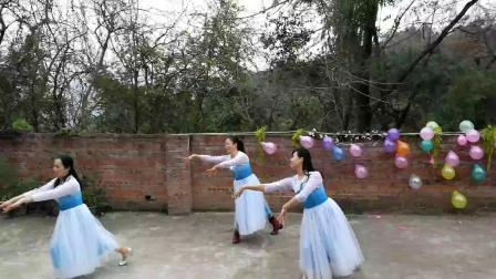 形体舞《雪莲花》(张怡.庞敖智.黄倩农家乐随跳)1580089168601
