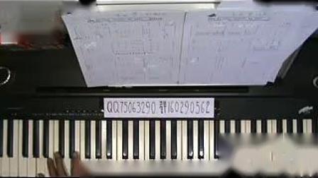 钢琴怎么处理低、高潮(一帘幽梦)