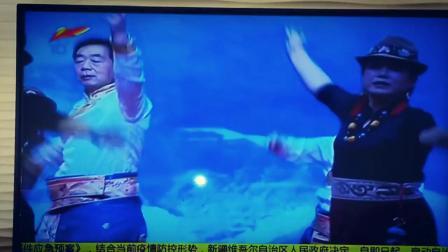 新疆扎西德勒锅庄队上电视了,新疆电视台XJ-10