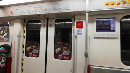 【2020.1.27】广州地铁3号线闪灯图B4车北延段运行(龙归-人和)