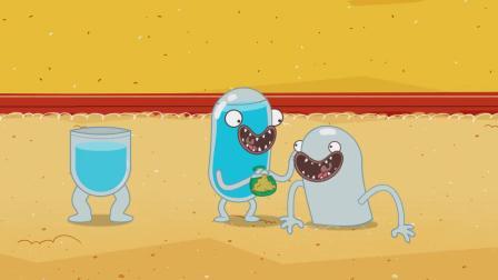 脑洞幽默动画,玩沙玩水别玩冰雹,砸在身上让你怀疑人生!