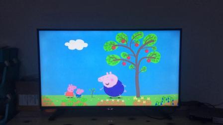 乔治动画片之小猪佩奇第一季第10集花园种菜