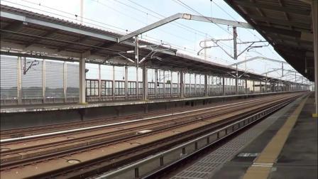 日本新干线超高速转弯!