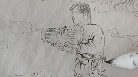 仇英《桃源仙境图》临摹指导(七)
