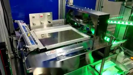 大尺寸180度翻转式自动覆膜机2
