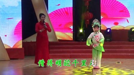 京津冀评剧票友大赛十大票友第一名钱美珍演唱 评剧花木兰 伴舞和汇传媒评剧班的小朋友