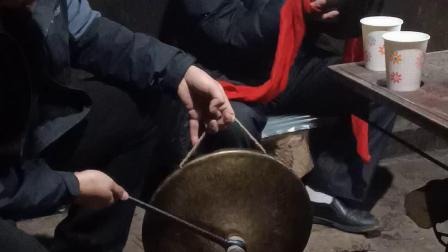青川县新春佳节锣鼓