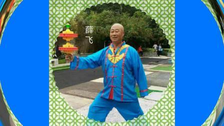 西安华清园薛飞老师空竹技艺