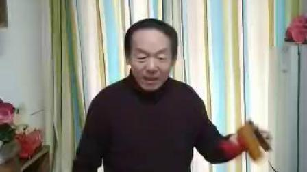 天津市曲艺家协会会员李广彦先生演唱自已创作的竹板书《南山不老松》