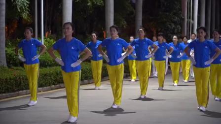 海南三亚 美好回忆(一):中囯梦之队快乐之舞健身操