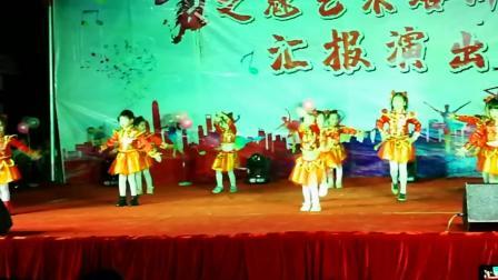 上林县双罗村魅之舞幼儿艺术培训2019汇报演出一