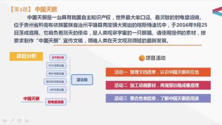 山西省2019年中考信息技术考试——第1题中国天眼-_标清