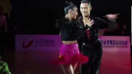 2020国家青年队拉丁舞一队--黄承俊-徐心悦-武汉体育舞蹈艺术学校-桑巴