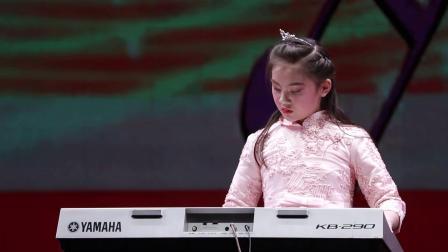 银河之星2020榆林选区:榆林市舞音艺术培训 谢舒琪 弹奏《童年》