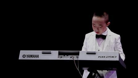 银河之星2020榆林选区:榆林市舞音艺术培训 王暄博 弹奏《荷塘月色》
