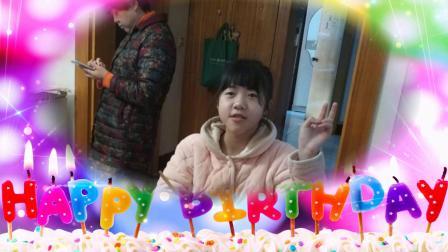 王润涵12岁生日