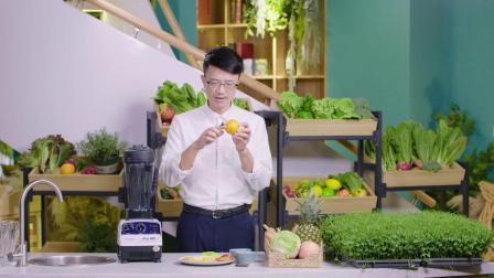 王明勇老师示范健胃整肠的『天然胃乳蔬果精力汤』