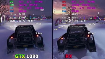 RX5600XT vs GTX1080-2K分辨率测试对比