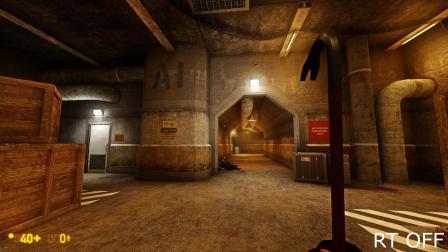 Black Mesa-4K/光追GI/Ultra graphic对比