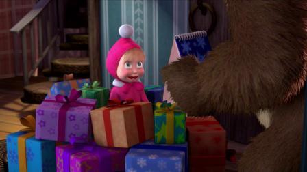 圣诞树 动画片 中文讲解 --洋洋爸
