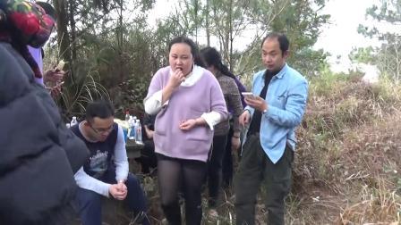 2016年清明节莲花坡上坟记