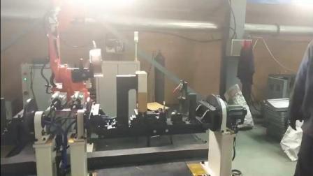 扒胎器滑块机器人焊接