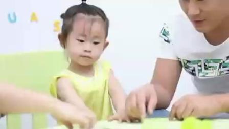 听力残疾儿童家庭康复训练—对对碰