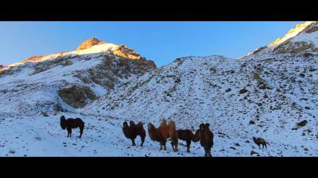 帕米尔高原雪景