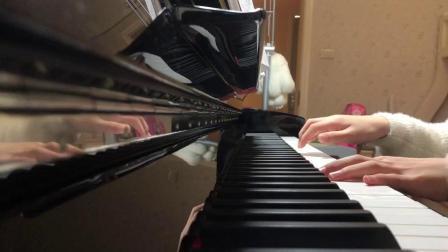 闺女钢琴弹奏--《父亲》