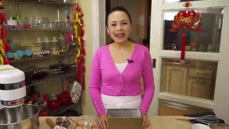 家常甜品的做法视频 香蕉核桃磅蛋糕的制作方法