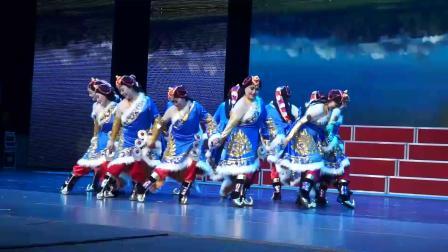 9、舞蹈《扎西德勒》1 表演:民族风舞蹈团
