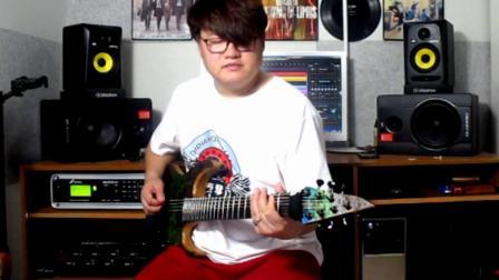 加州旅馆电吉他吴琳金属版