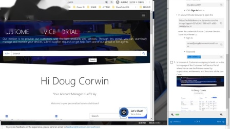 4.CDX_Dynamics 365_Customer Service_demo