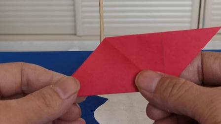 折纸(等边三角形和平行四边形),好玩的数学!