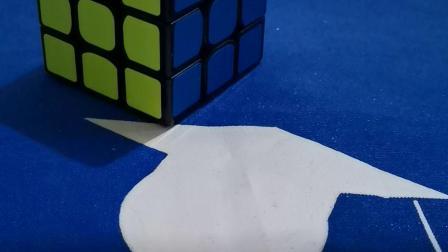 一个手法还原三阶魔方实例,人人都能学会三阶魔方!好玩的数学!