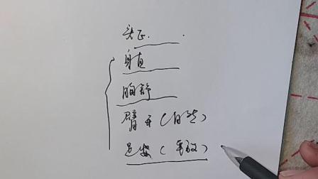 武陵书苑助力学子书法课第一小节