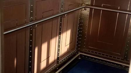 澳门巴黎铁塔观光电梯上行(7F-37F)