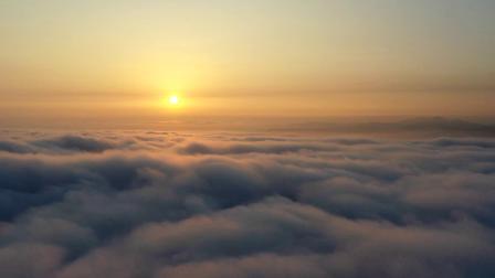 无人机穿雾延时摄影
