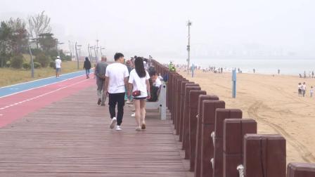 青岛印象2019年10月4日国庆节西海岸海滨