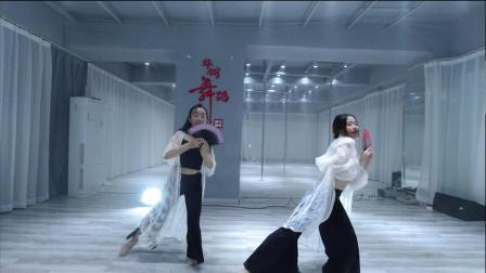 南宁华翎舞蹈培训学校(舞云间)TB秀古典舞扇子舞周杰伦《发如雪》