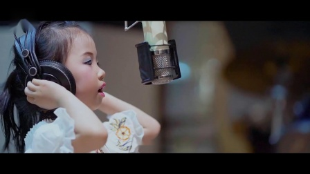 史上最萌5岁小女孩童雅路《远走高飞》奶音版