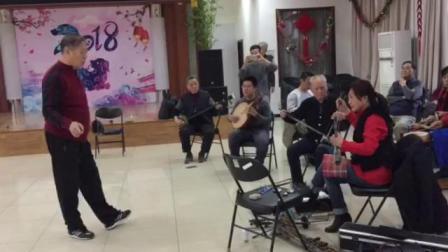 北京白纸坊社区京剧票房《望江亭》 司鼓:李连生