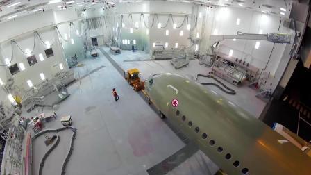 官方,加拿大航空(AirCanada)首架A220从总装到交付