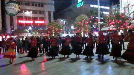 永善工农广场民族舞——纺纱