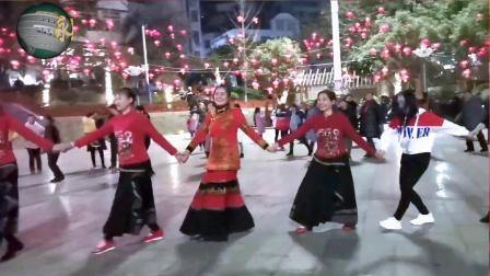 永善工农广场民族舞——绞脚