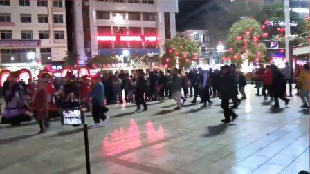 永善工农广场民族舞——跨步