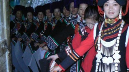 彝族结婚新郎王伍合  新娘沈丹第一集