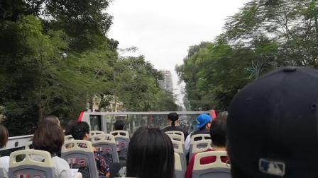 花费越南盾350000的环线观光车,车览看看河内还剑湖附近的风光.mp4