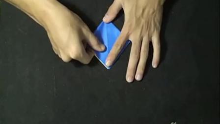 手工制作大全 折纸教程之 纸鹤折法  儿童折纸