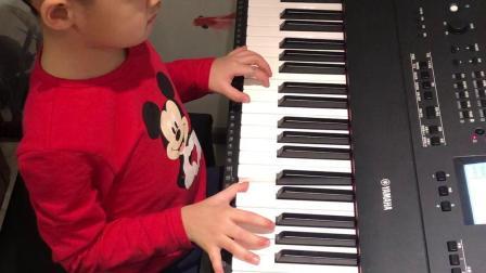 电子琴《藏族民歌》张家铭(韵致雅艺术培训)